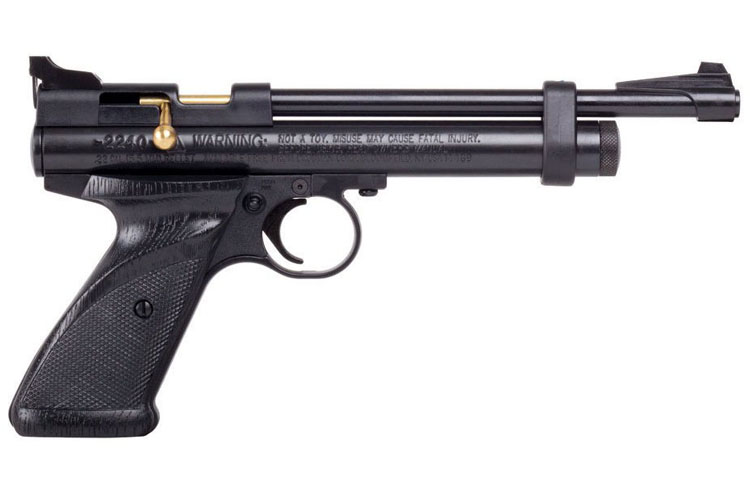 crosman bolt action co2 powered pistol