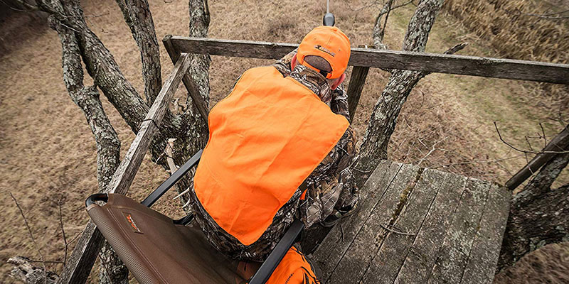 image of the best hunting blind chair