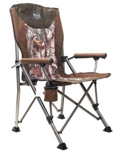 Image of the best heavy duty camping chair - timber ridge