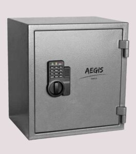 aegis fireproof and electronic security safe